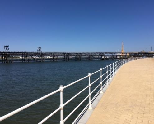 Muelle del Tinto y Paseo de la Ría